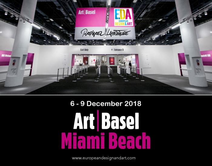 Raphaël Laventure au salon art basel à Miami