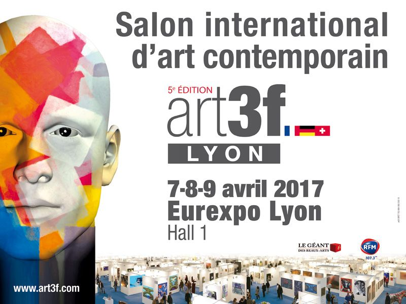 salon art 3f à Lyon