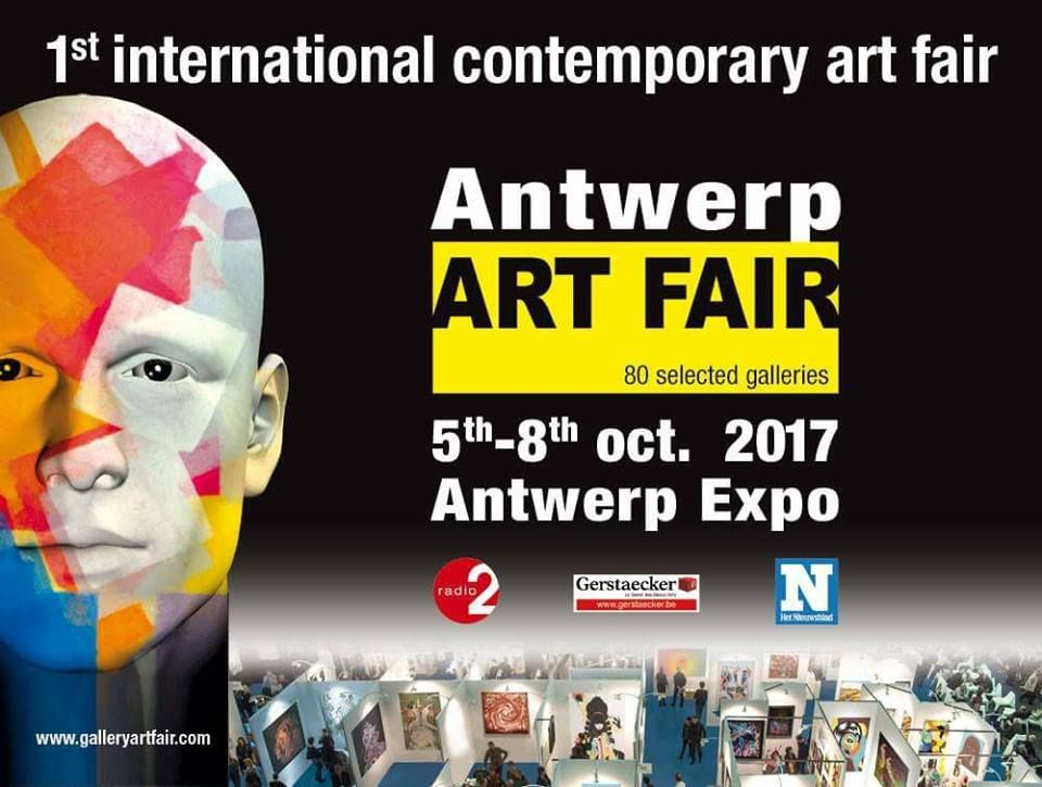 Salon ART FAIR à Anvers (en Belgique)