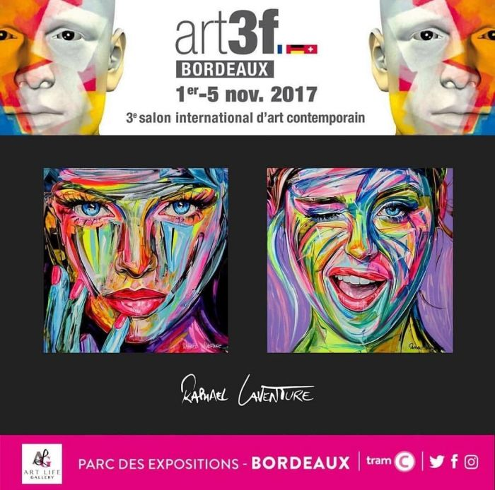 Salon Art 3F à Bordeaux