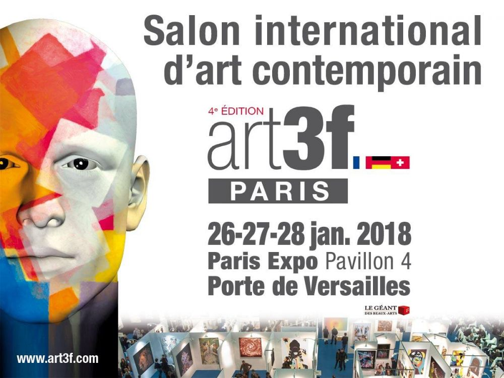 Salon Art 3F à Paris Porte de Versailles
