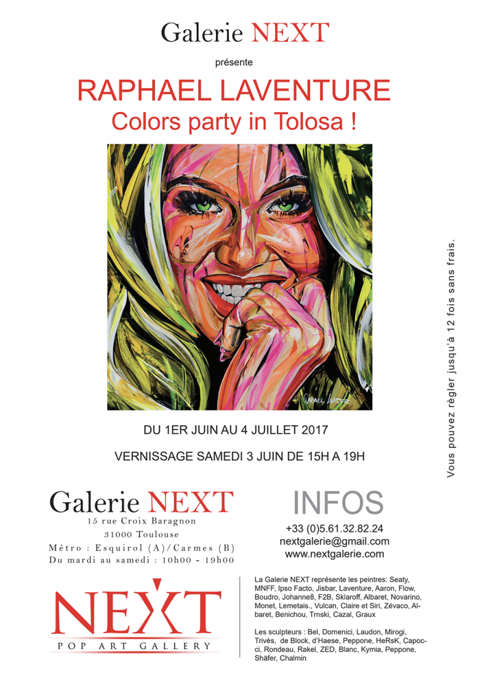 SOLO EXHIBITION AT THE NEXT GALLERY IN TOULOUSE