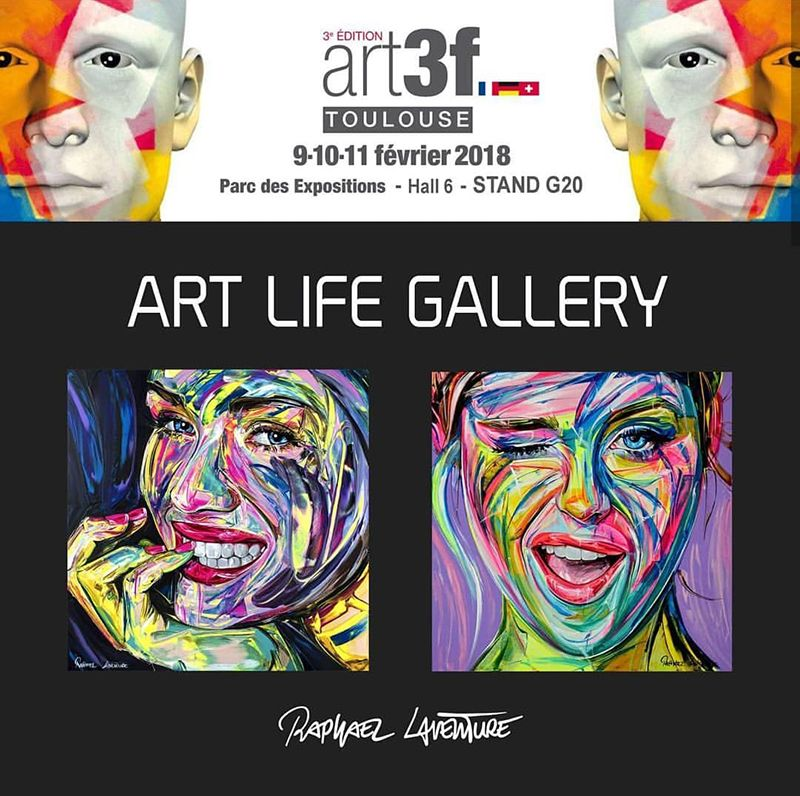 SALON ART 3F à Toulouse
