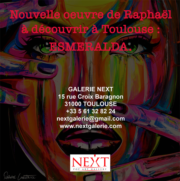 NEW CANVAS IN EXHIBITION IN TOULOUSE!
