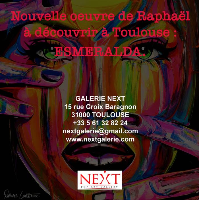 Nouvelle toile en exposition à Toulouse !