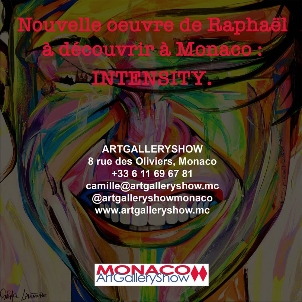 NEW CANVAS IN EXHIBITION IN MONACO!