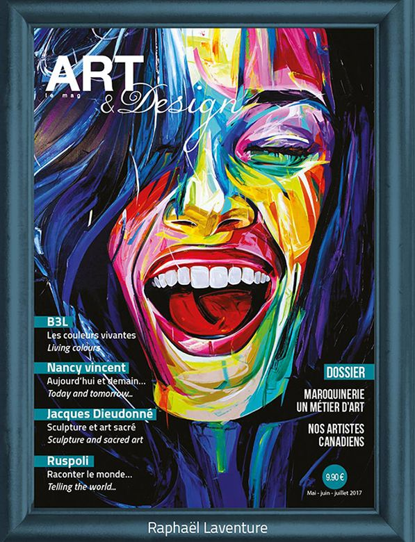 Couverture du magazine ART & DESIGN