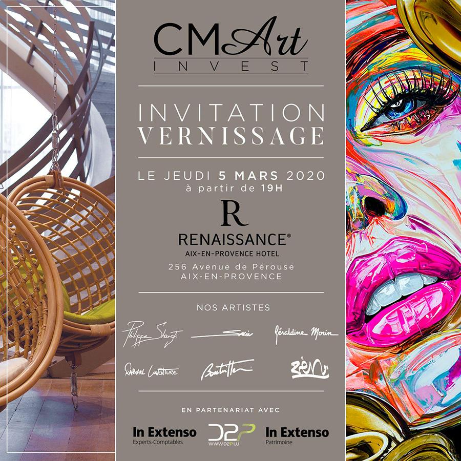 Exposition avec CM Art Invest à Aix-en-Provence